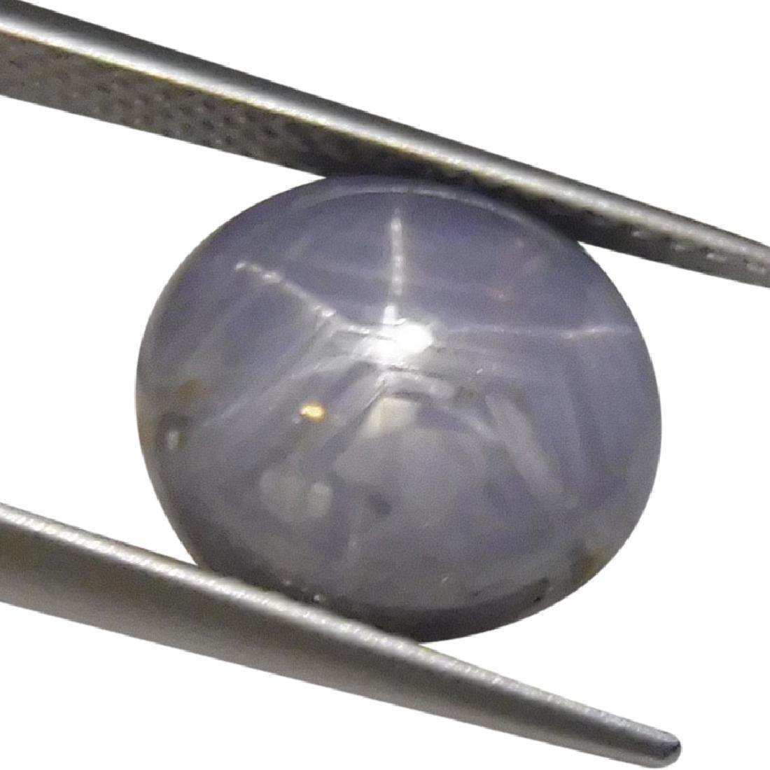 5.1 ct Oval Star Sapphire
