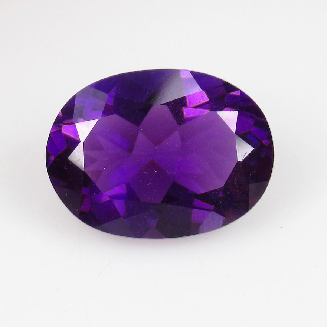 4.79 Ct IGI Certified Genuine Brazil Purple Amethyst