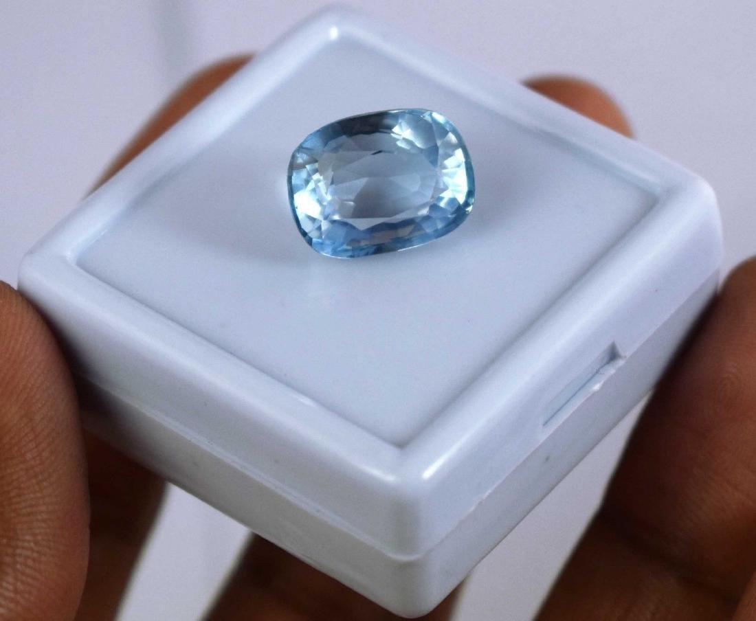 14.15 Ct Natural Aqua Blue Aquamarine IGL Certified - 2