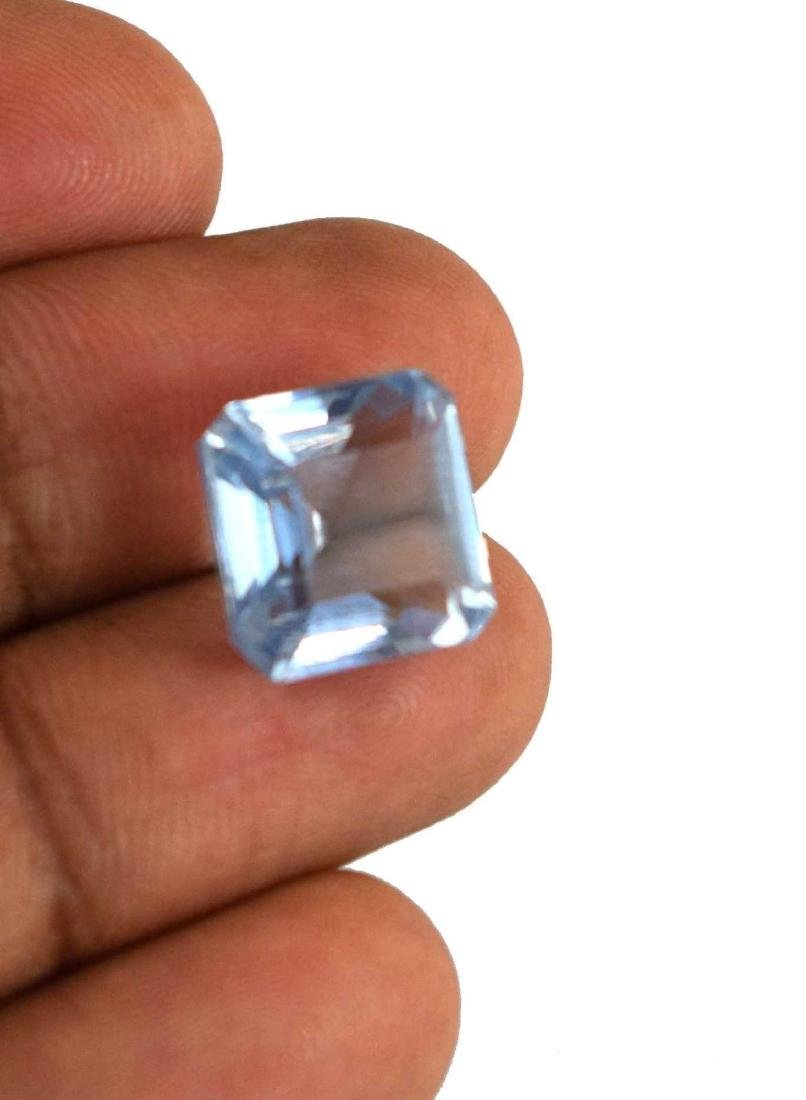 12.45 Ct Natural Aqua Blue Aquamarine IGL Certified