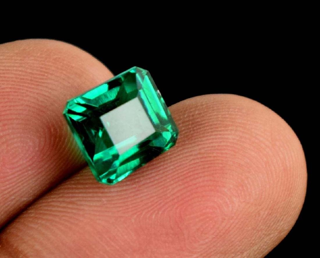 4.95 Ct Natural Untreated Green Demantoid Garnet IGL