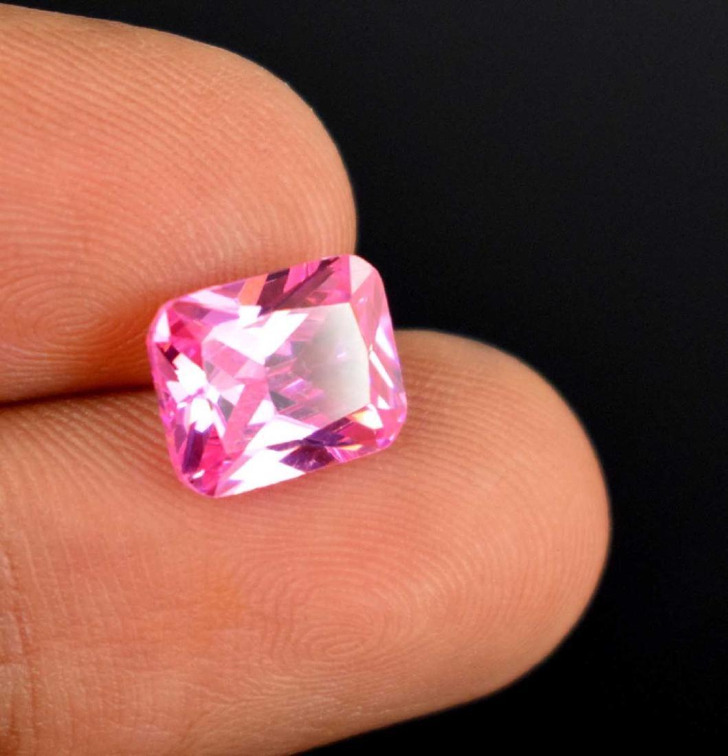 5.20 Ct Natural Cambodian pink Zircon No reserve IGL