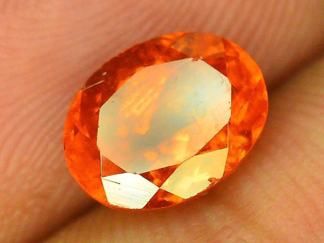 2.90 cts Fanta Color Natural Spessartite Garnet - 2