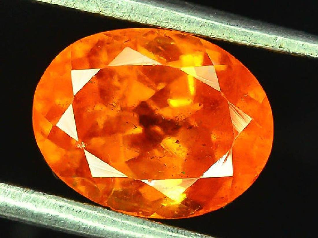 2.90 cts Fanta Color Natural Spessartite Garnet - 4