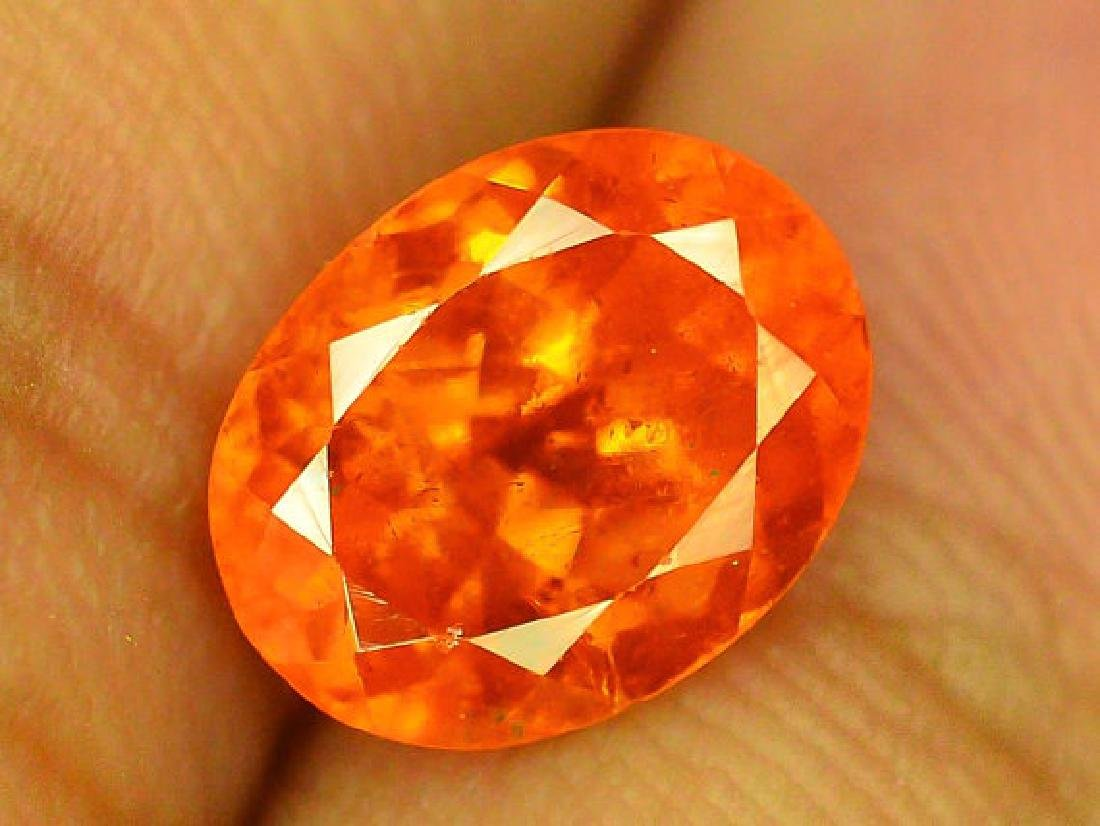 2.90 cts Fanta Color Natural Spessartite Garnet - 5