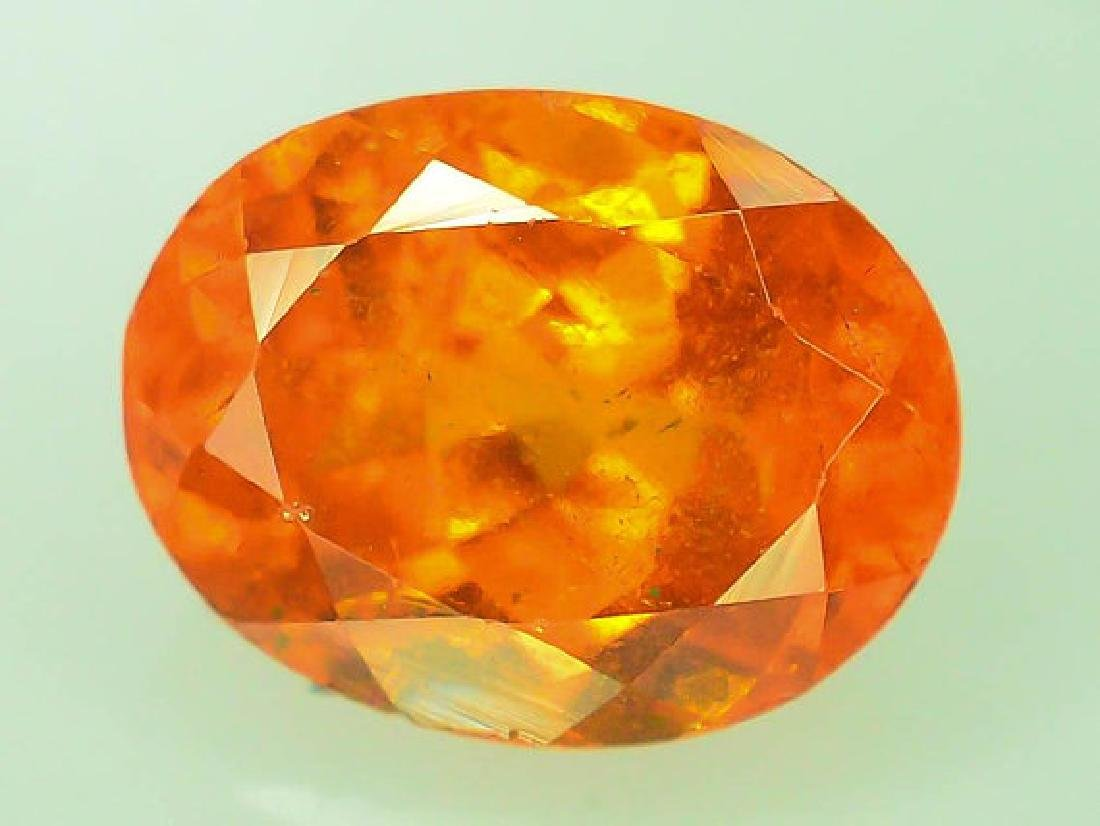 2.90 cts Fanta Color Natural Spessartite Garnet - 7