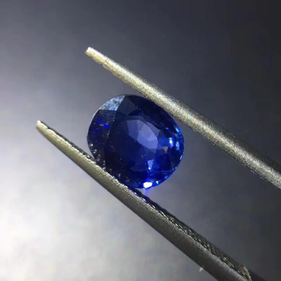 1.68 ct Sapphire 7.5*6.4*3.6 mm Oval Cut - 2