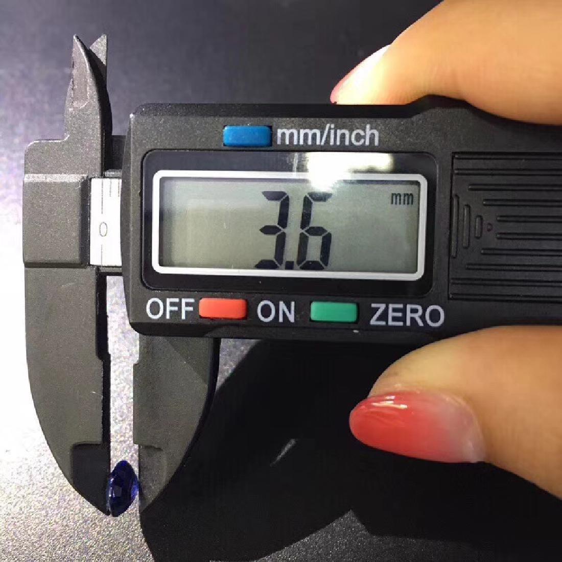 1.68 ct Sapphire 7.5*6.4*3.6 mm Oval Cut - 7
