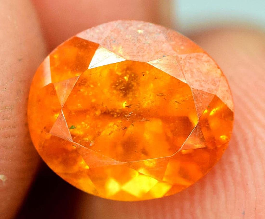2.40 carats Fanta Color Spessartite Garnet Loose - 4