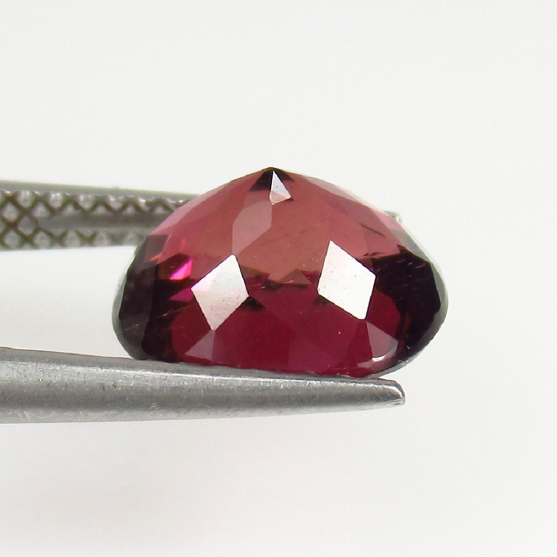 2.50 Ctw Natural Loose Deep Reddish Pink Rubellite - 2