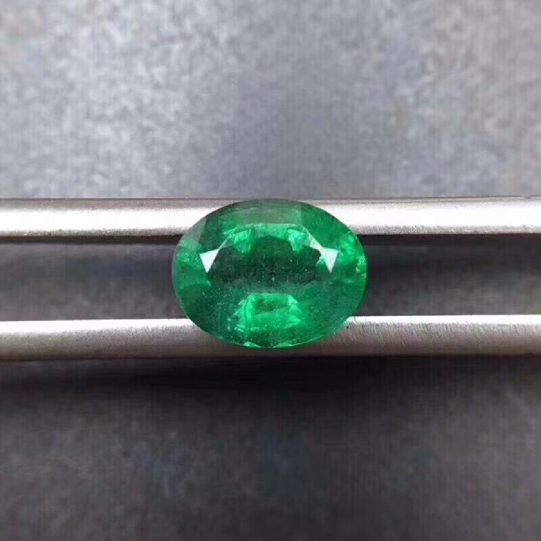 1.3 ct Emerald 7.9*4.2*6.0 mm Oval Cut