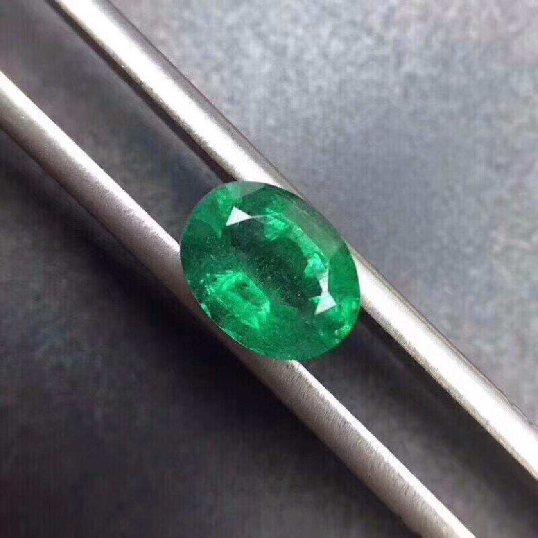 1.3 ct Emerald 7.9*4.2*6.0 mm Oval Cut - 2