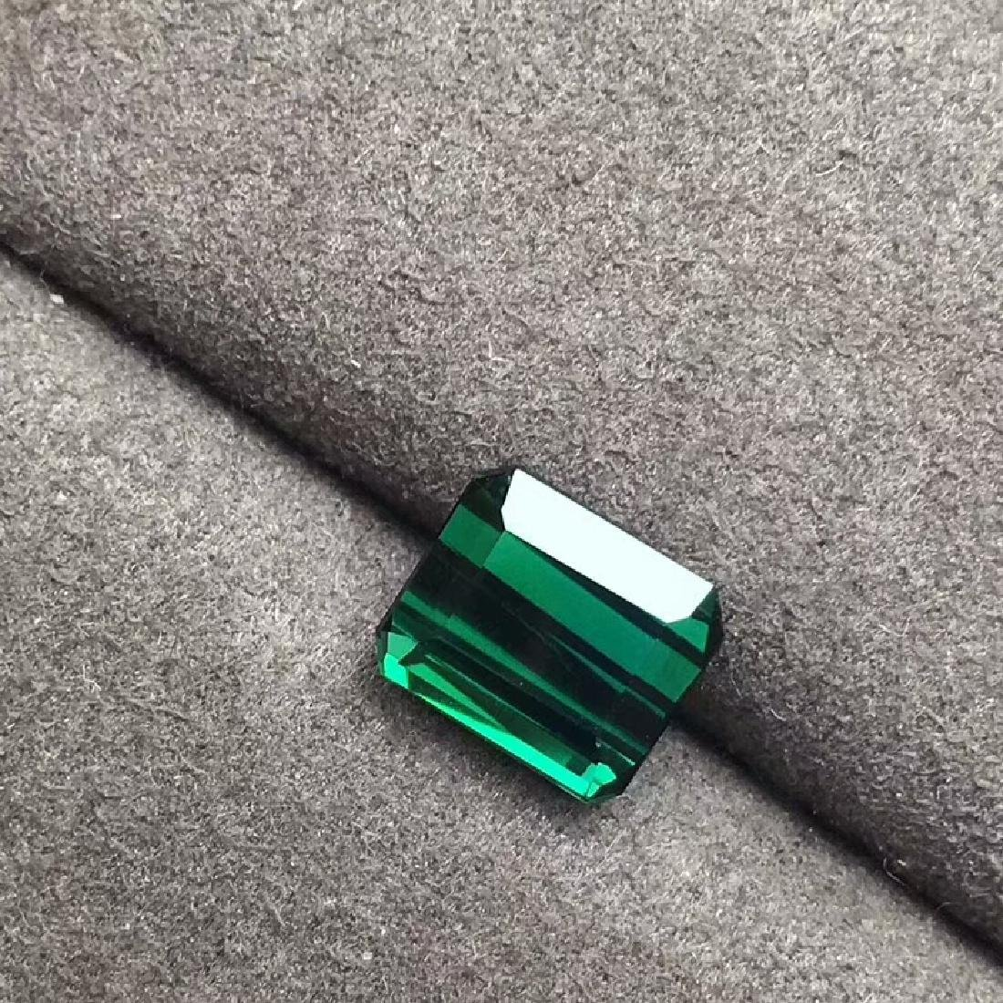 3.66 ct Tourmaline 9*7.8*5 mm Princess Cut - 3