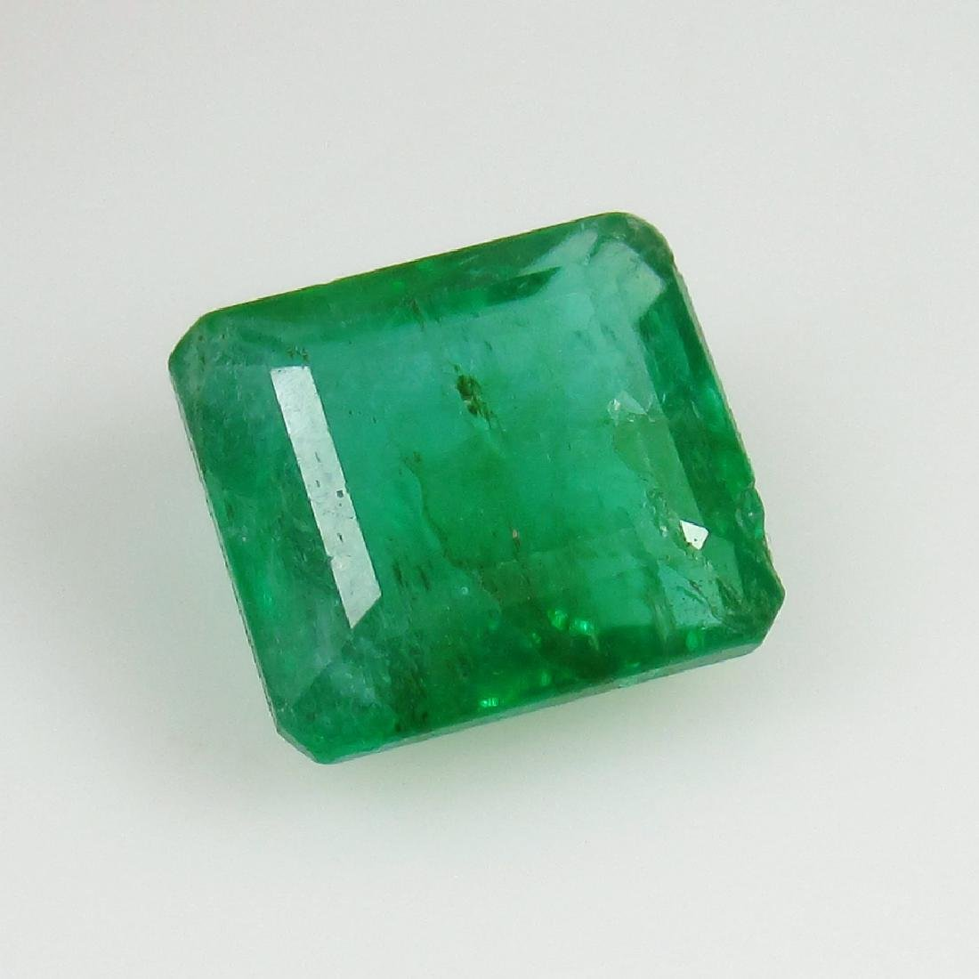 IGI Certified 2.90 Ct Genuine Zambian Emerald AAA++