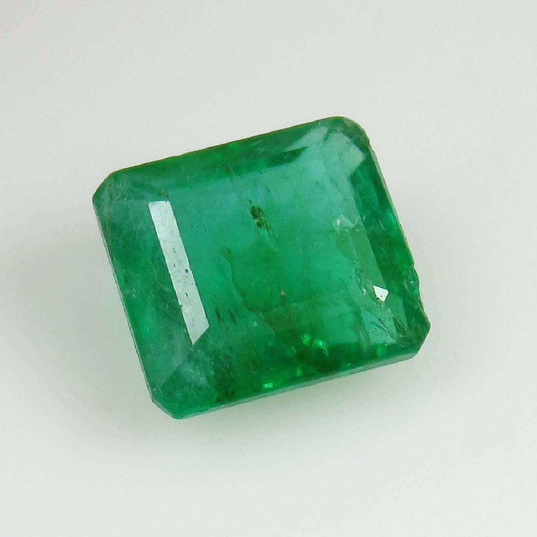 IGI Certified 2.90 Ct Genuine Zambian Emerald AAA++