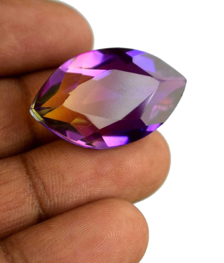 31.55 Carat Yellowish Purple Ametrine NO RESERVE IGL