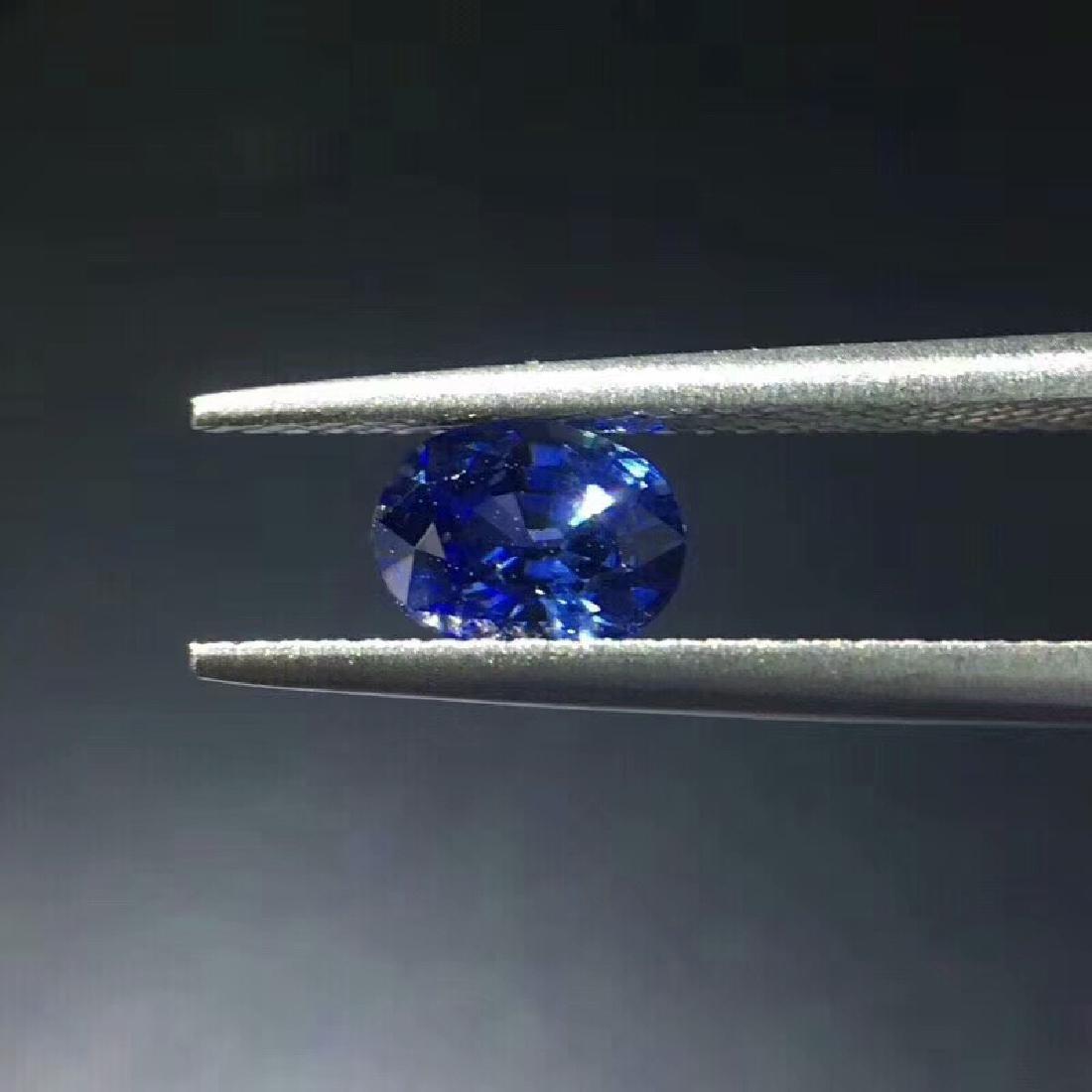 1.02 ct Sapphire 4.8*6.5*3.7 mm Oval Cut