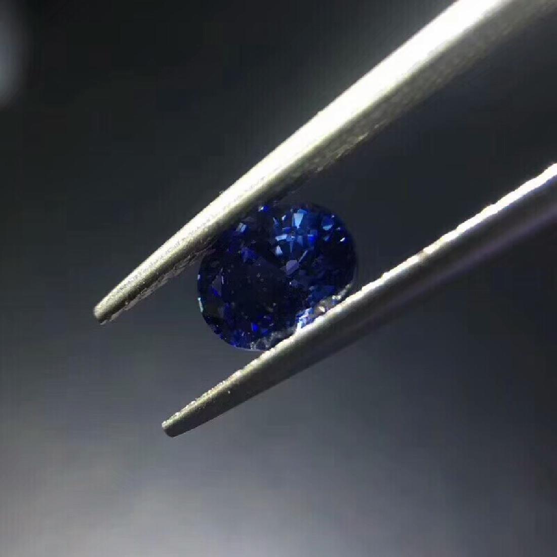 1.02 ct Sapphire 4.8*6.5*3.7 mm Oval Cut - 3
