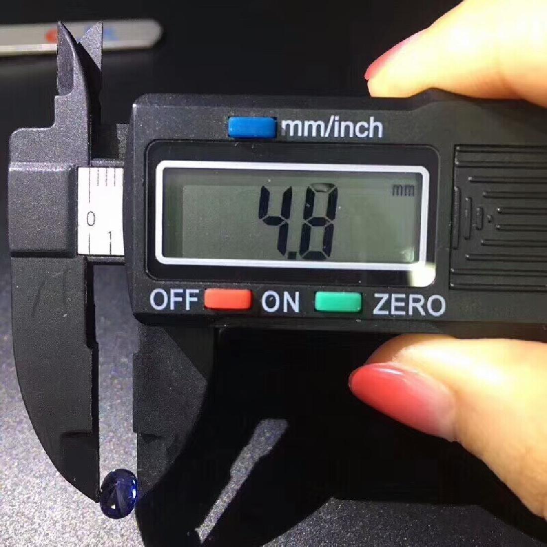 1.02 ct Sapphire 4.8*6.5*3.7 mm Oval Cut - 7