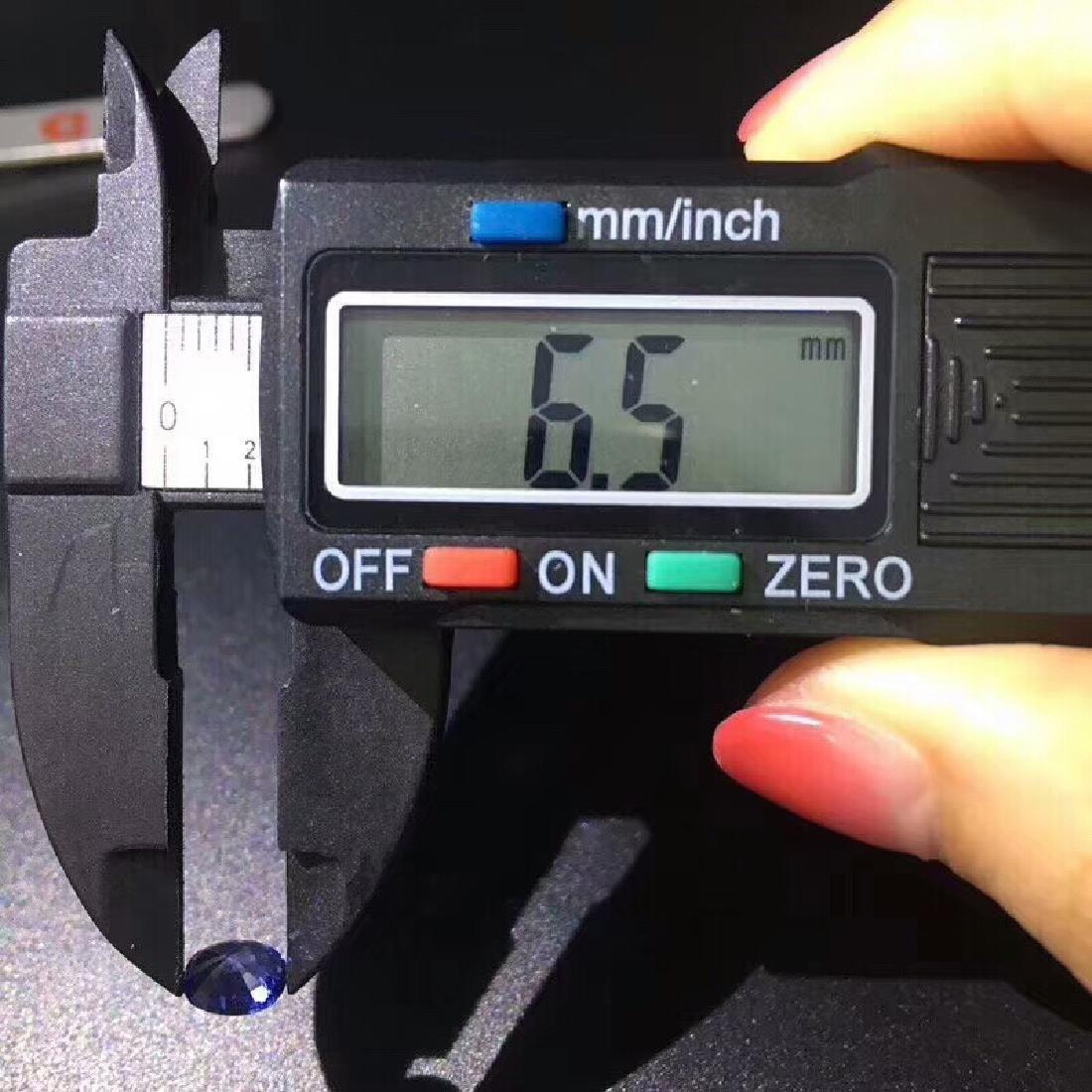 1.02 ct Sapphire 4.8*6.5*3.7 mm Oval Cut - 8
