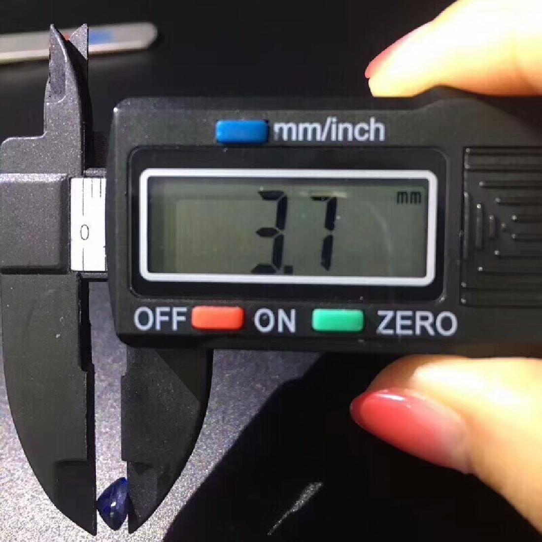 1.02 ct Sapphire 4.8*6.5*3.7 mm Oval Cut - 9