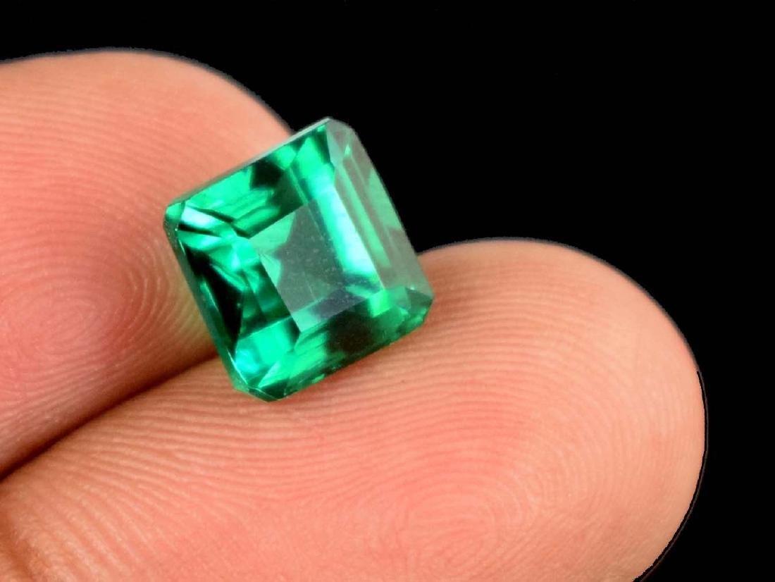 5.70 Ct Natural Untreated Green Demantoid Garnet IGL