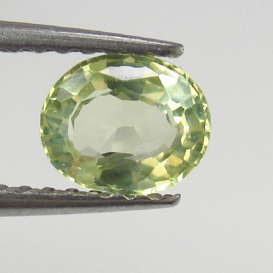 0.65 Ct Genuine IGI Certified Top Luster Chrysopberyl - 4