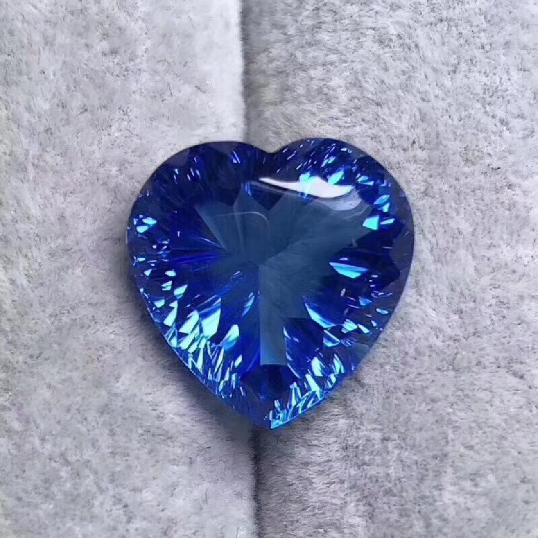 19.64 ct Topaz 16.3*16.2 mm Heart Cut