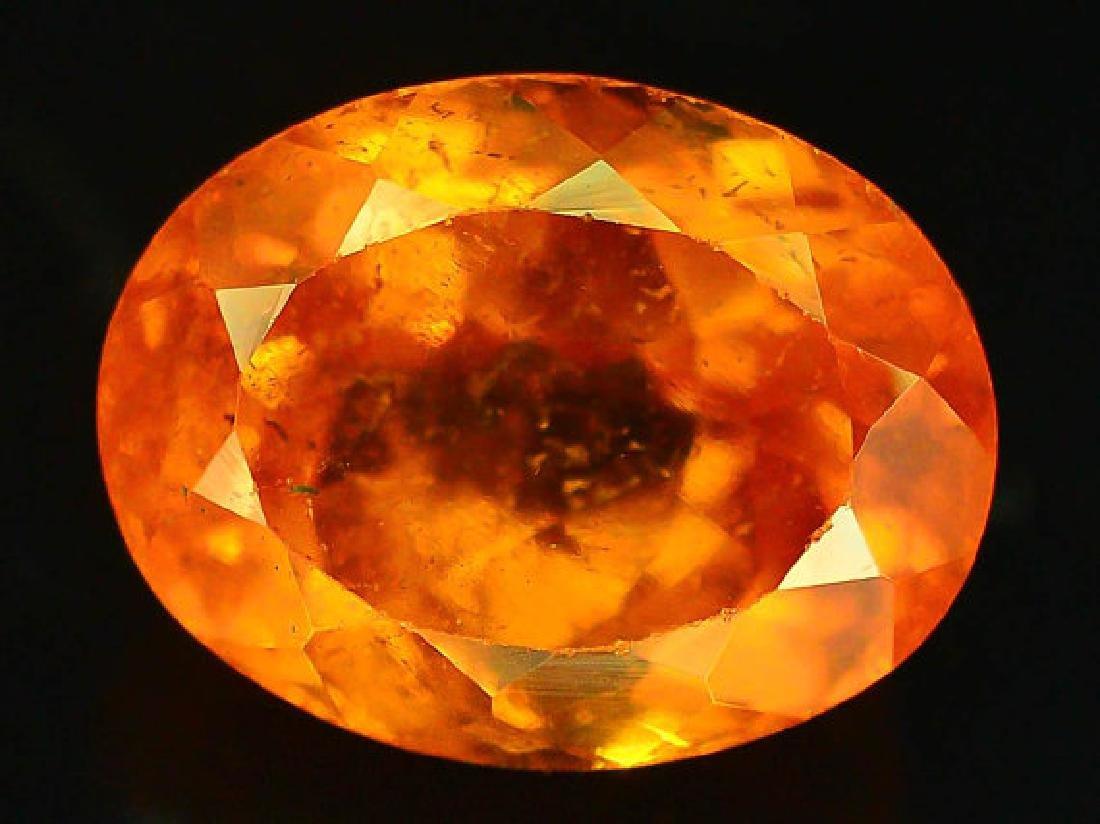 3.45 cts Fanta Color Natural Spessartite Garnet - 3