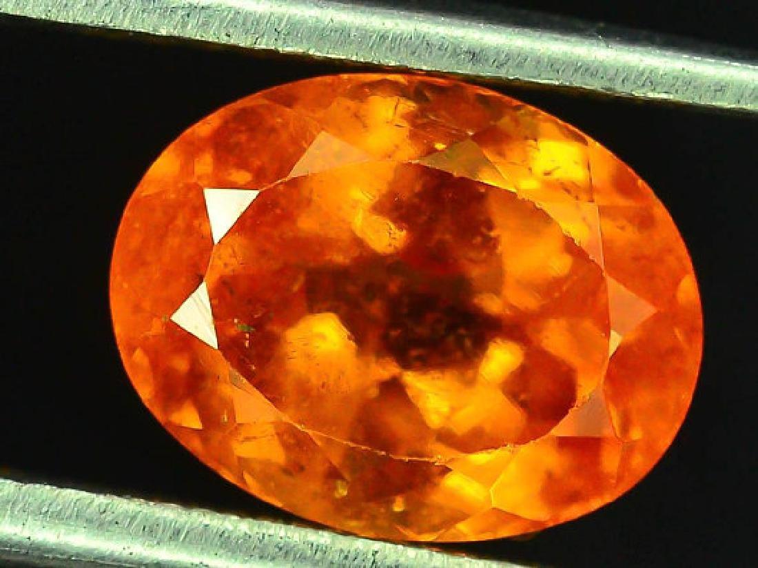 3.45 cts Fanta Color Natural Spessartite Garnet - 4