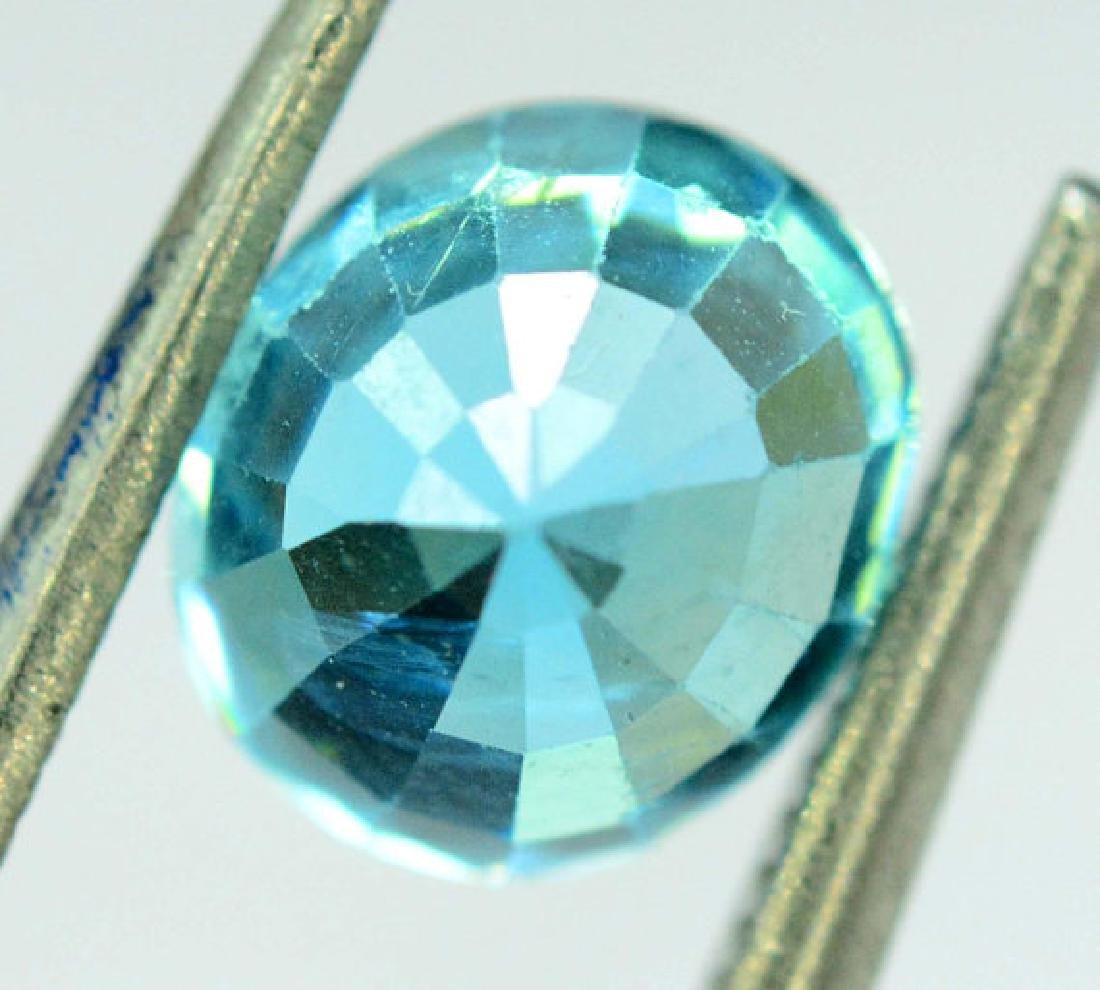 2.35 carats Blue Zircon Loose Gemstone from Cambodia - - 2