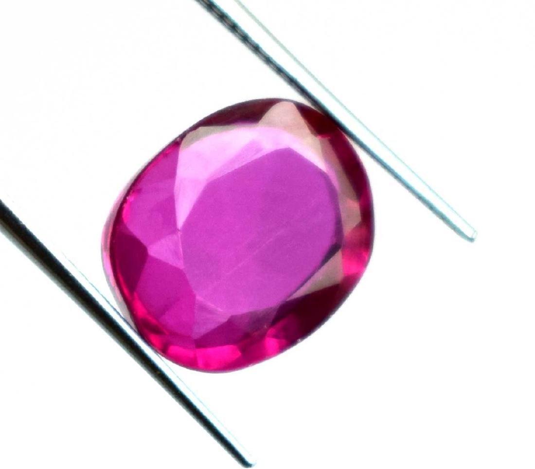 6.60Ct Natural Pink Sapphire IGL Certified
