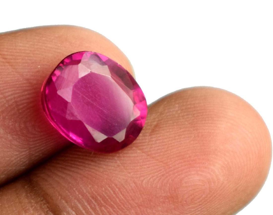 6.60Ct Natural Pink Sapphire IGL Certified - 2