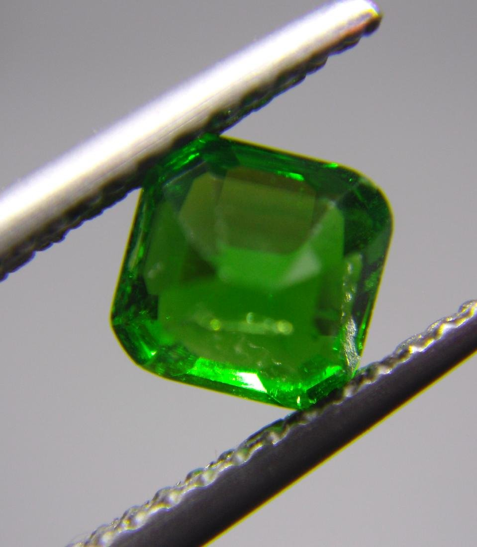 Tsavorite Green Garnet Certified - 1.09 ct - 5