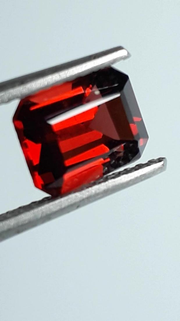 2.2ct Untreated Vivid Madagascar Red Garnet | VVS