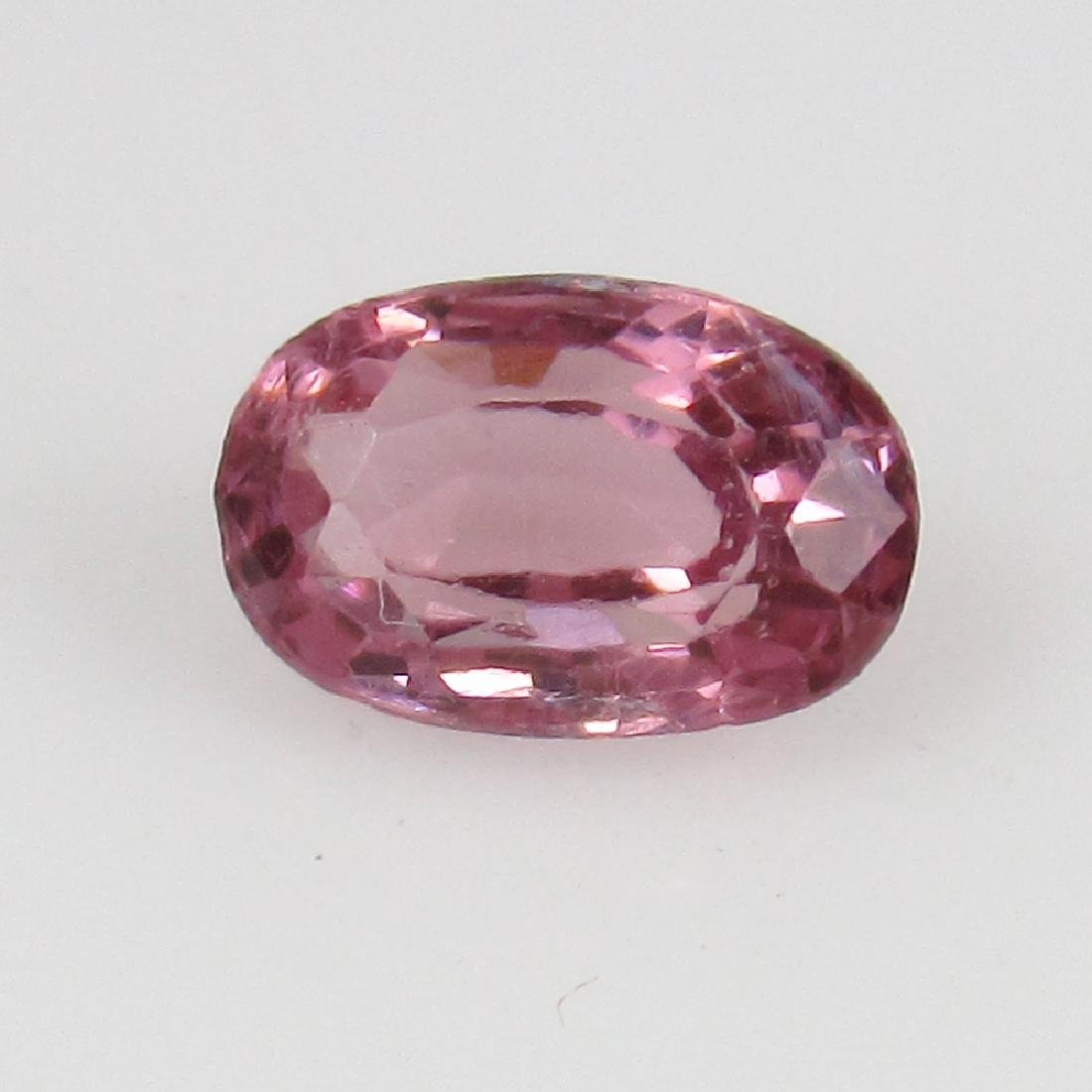 0.73 Ct Genuine IGI Certified Pyrope Pink Rhodolite