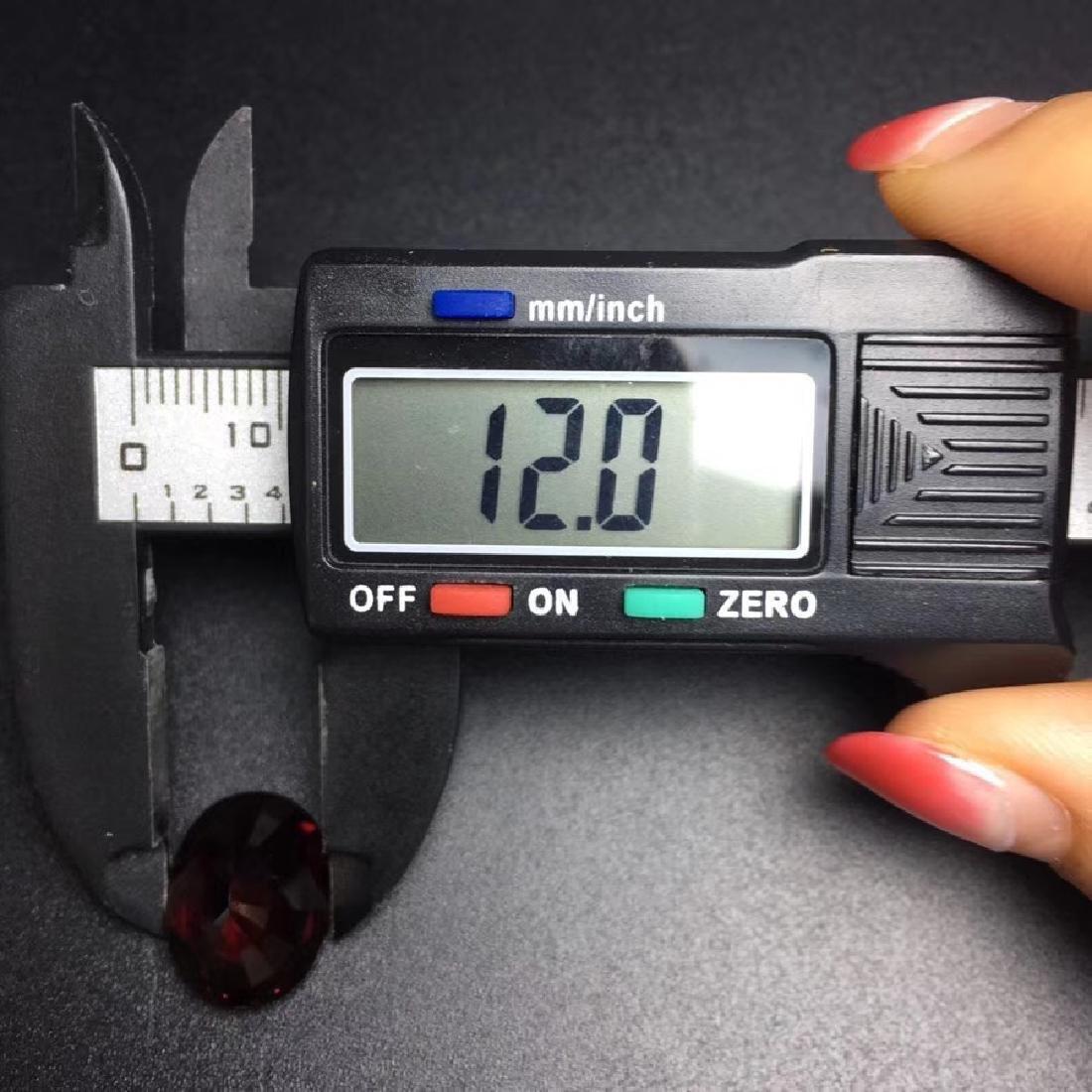 12.09 ct Garnet 12.0*15.4 mm Oval Cut - 5