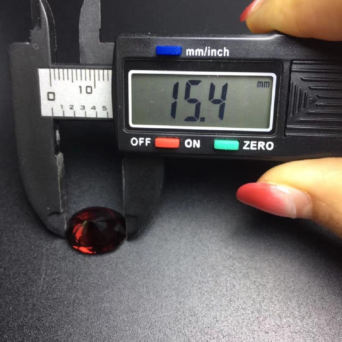 12.09 ct Garnet 12.0*15.4 mm Oval Cut - 6