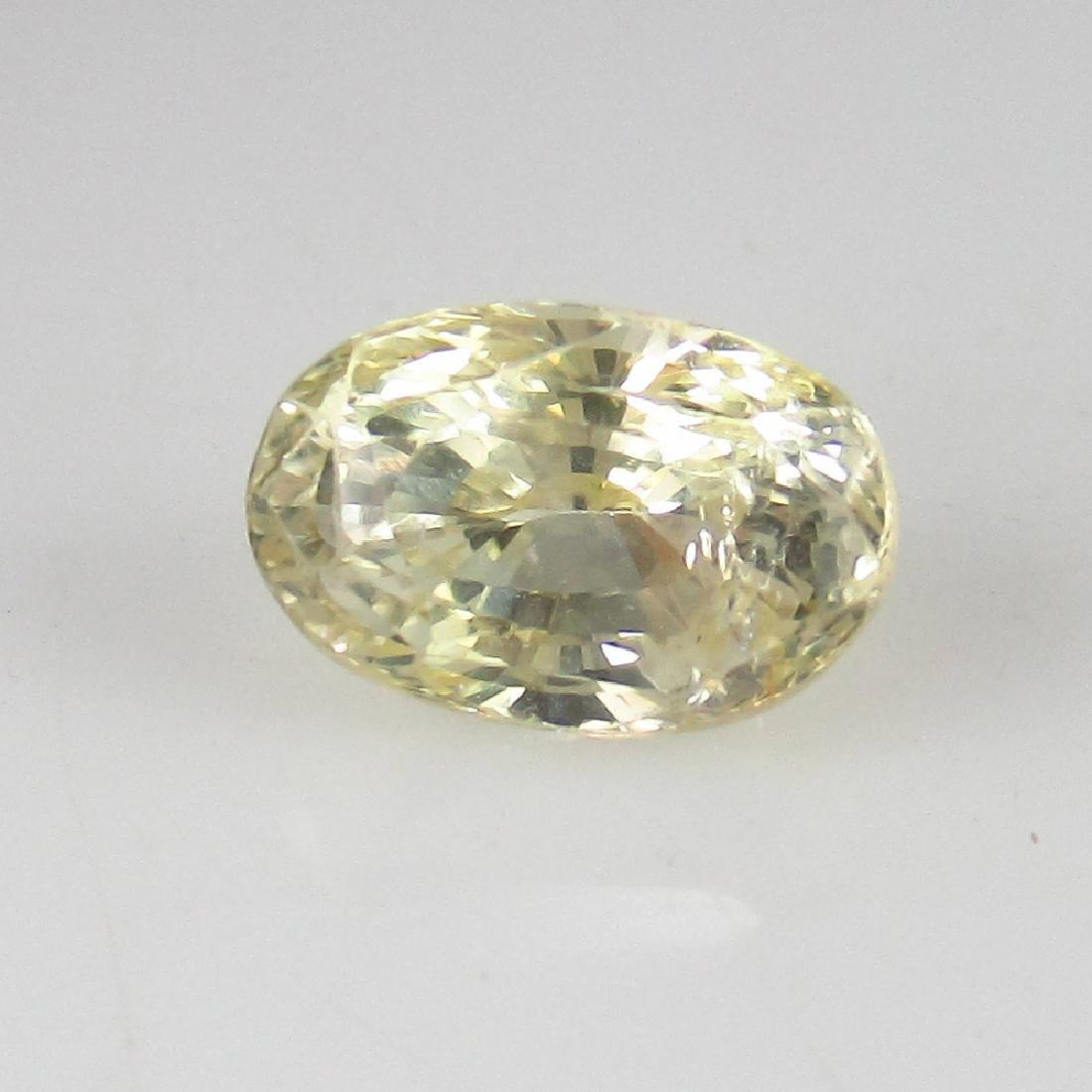 1.28 Ct Genuine IGI Certified Sri Lanka Yellow Sapphire