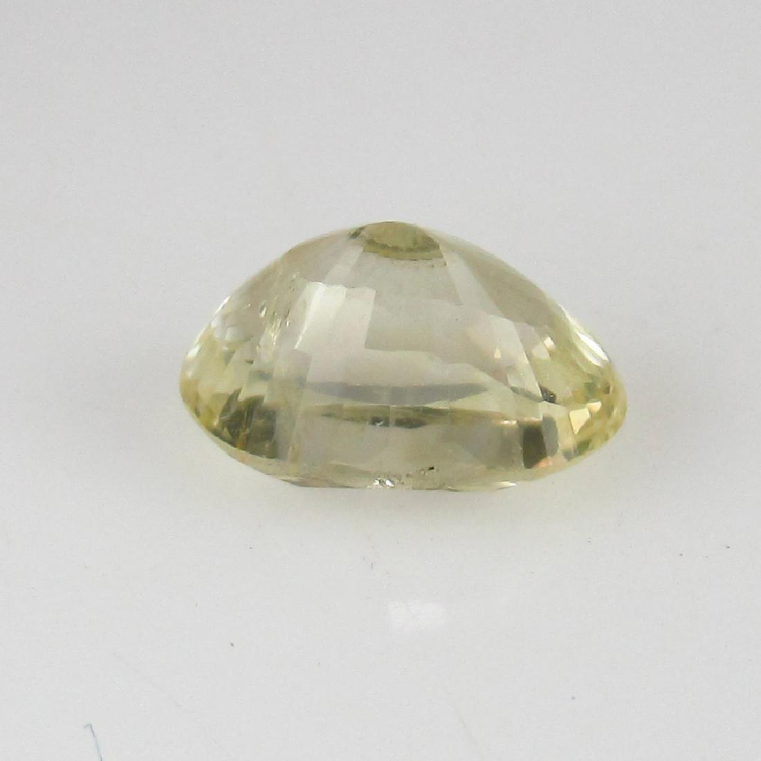 1.28 Ct Genuine IGI Certified Sri Lanka Yellow Sapphire - 5