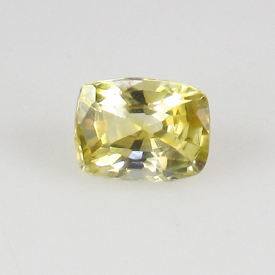 0.64 Ct Genuine IGI Certified Sri Lanka Yellow Sapphire