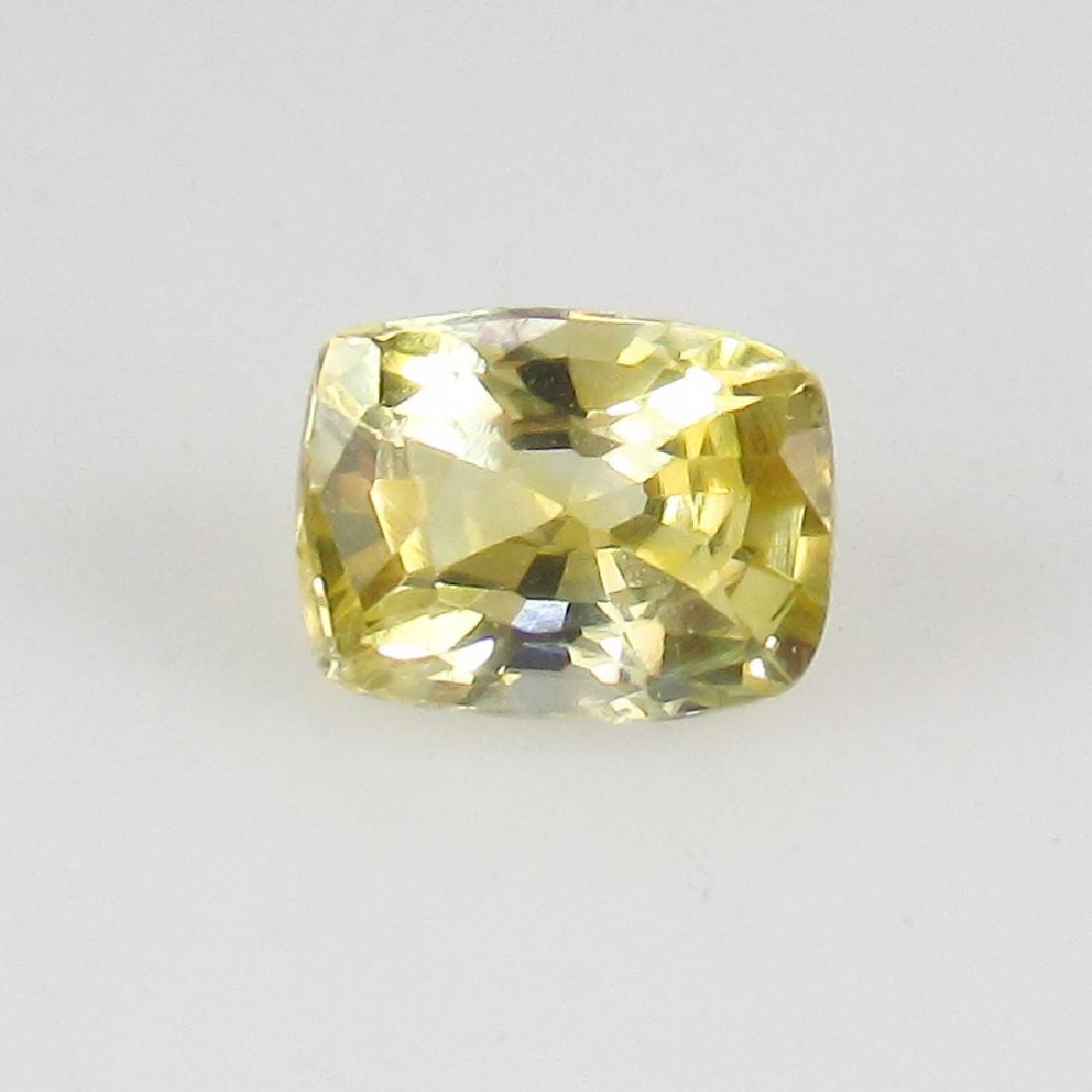 0.64 Ct Genuine IGI Certified Sri Lanka Yellow Sapphire