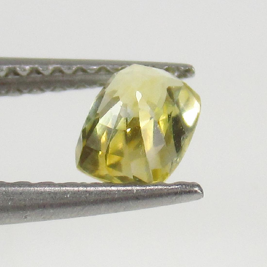 0.64 Ct Genuine IGI Certified Sri Lanka Yellow Sapphire - 3