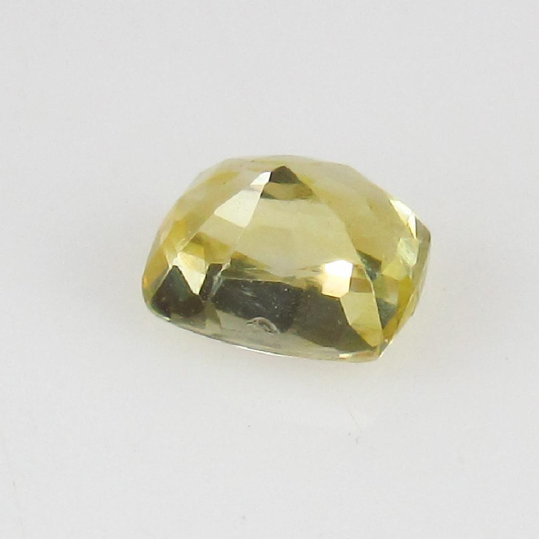 0.64 Ct Genuine IGI Certified Sri Lanka Yellow Sapphire - 5