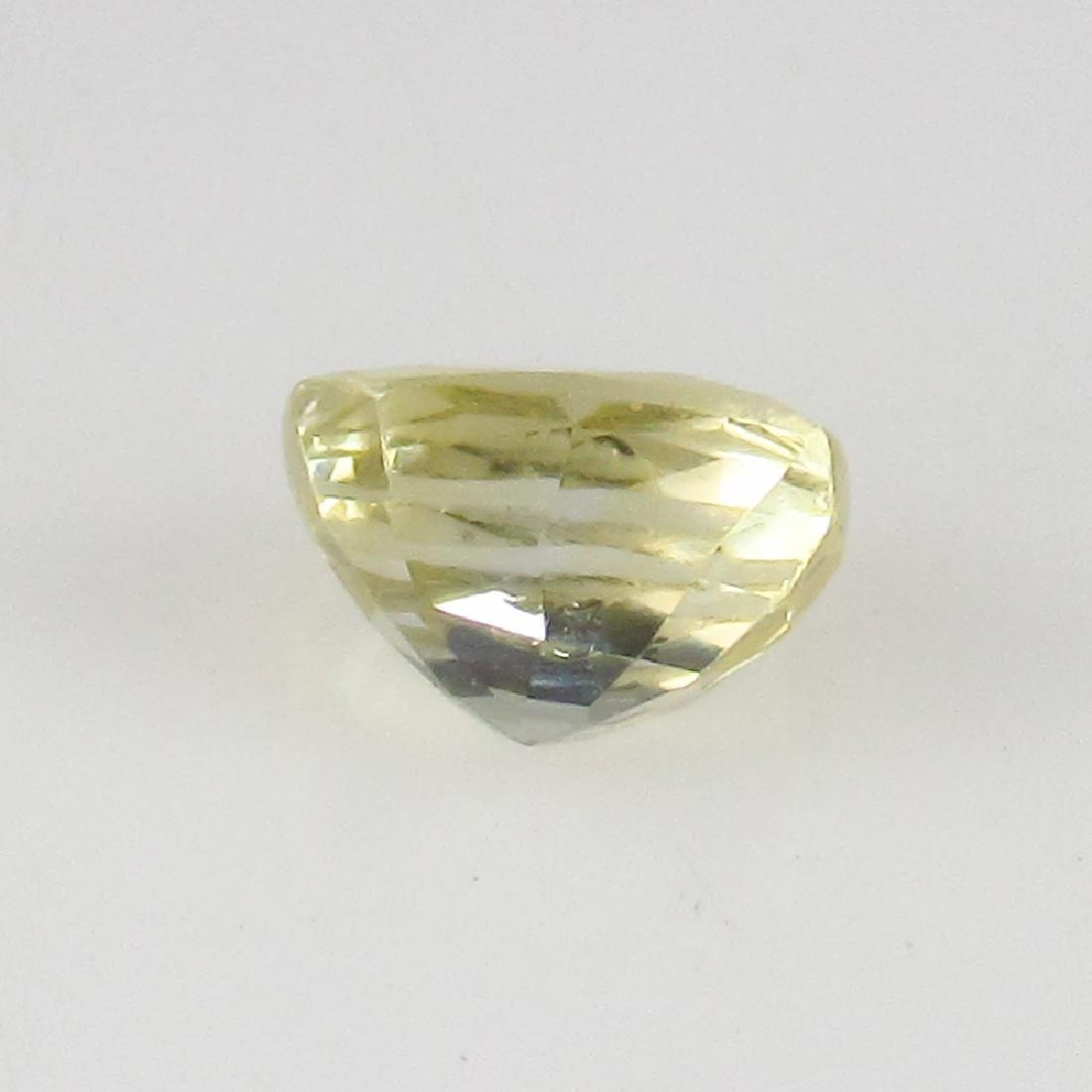 0.64 Ct Genuine IGI Certified Sri Lanka Yellow Sapphire - 6