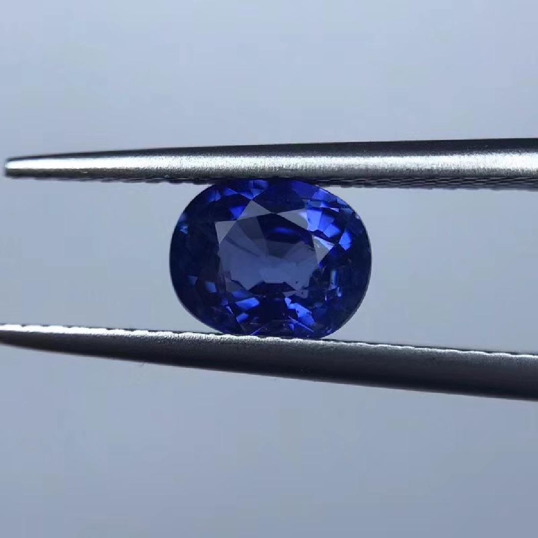 1.61 ct Sapphire 5.9*4.1*7.3 mm Oval Cut