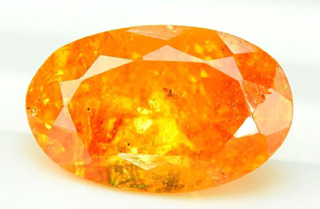 2.95 ct Fanta Color Natural Spessartite Garnet Gemstone