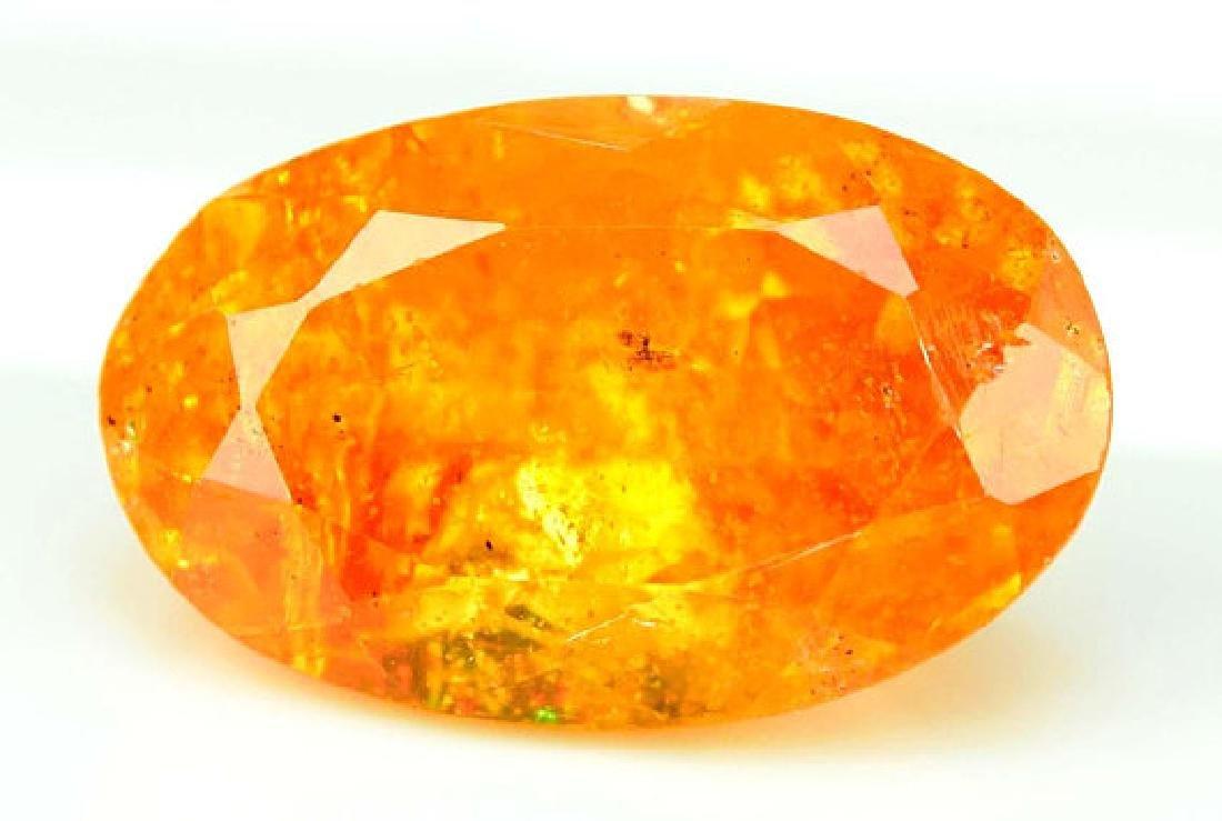 2.95 ct Fanta Color Natural Spessartite Garnet Gemstone - 3