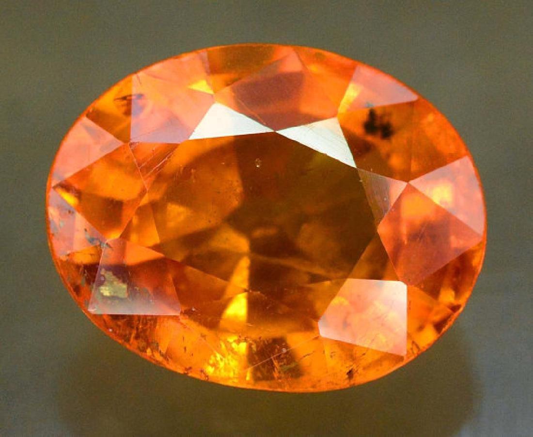 2.45 carats Fanta Color Spessartite Garnet Loose - 2
