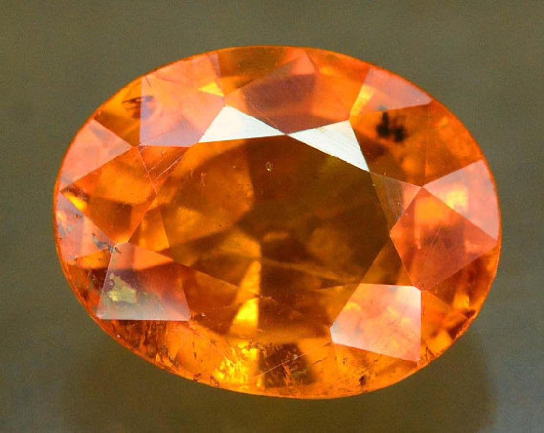 2.45 carats Fanta Color Spessartite Garnet Loose - 3